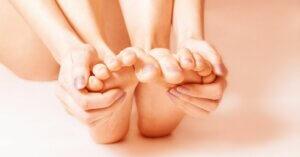 tintelingen in voeten