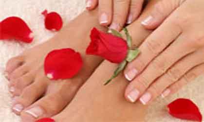 gespecialiseerde voetverzorgster Annemie
