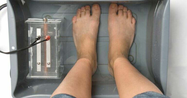 detox voetenbad
