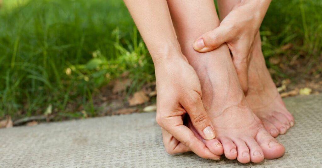 blaren tussen tenen